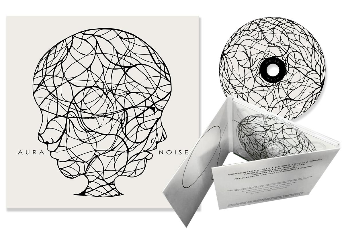 Mockup del cd e della copertina