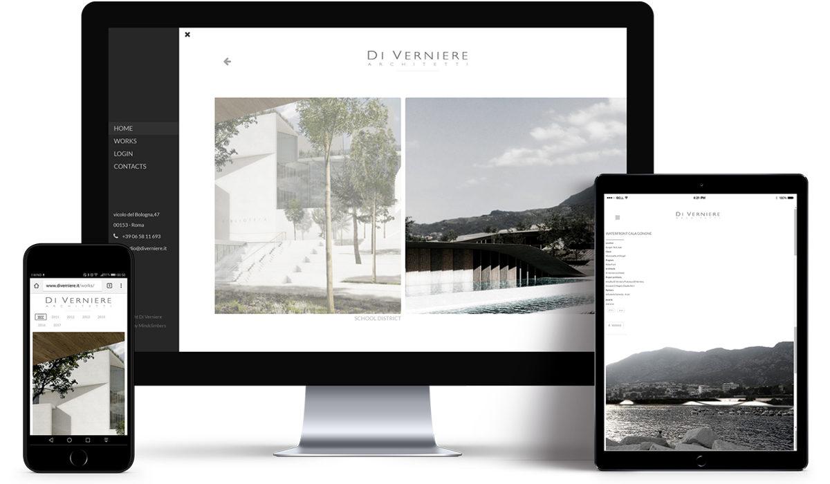 Mockup dei siti Di Verniere