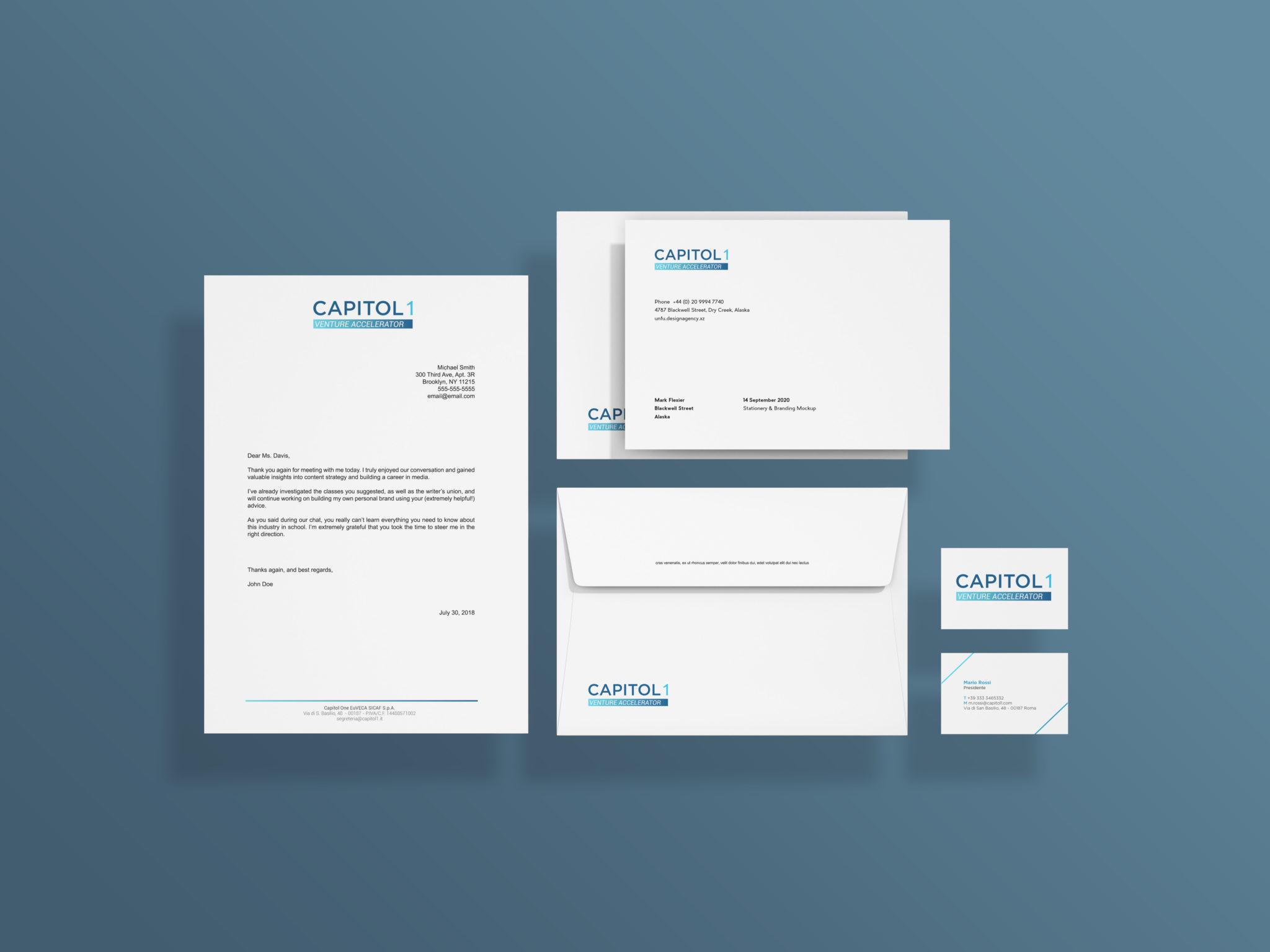 Brand identity Capitol 1