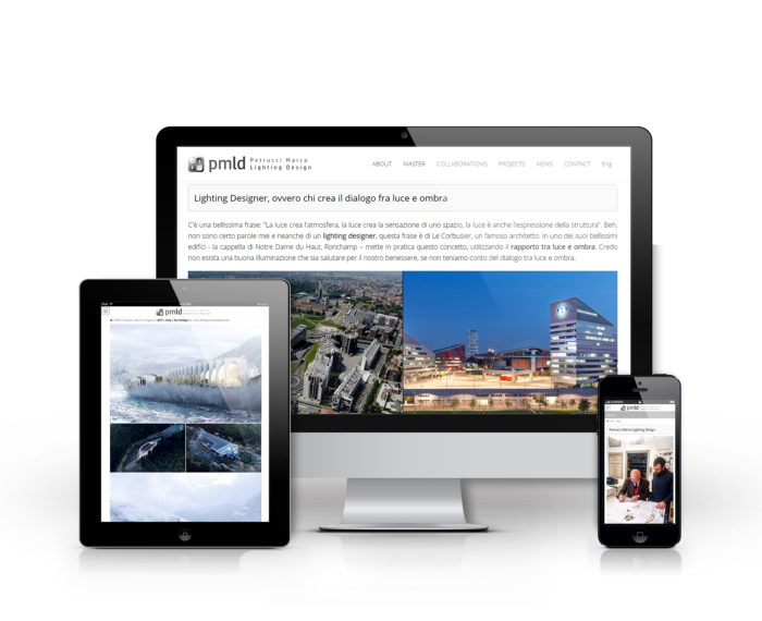 Petrucci Marco sito web