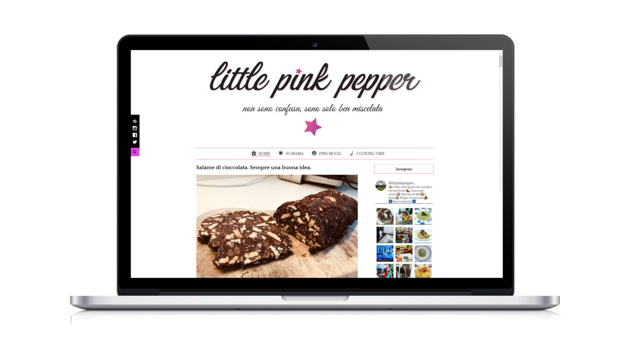 Little Pink Pepper Sito Web
